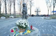 КИЇВ. Предстоятель Української Православної Церкви вшанував пам'ять  жертв Голодомору 1932-1933 років