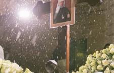 КИЇВ. Предстоятель Української Православної Церкви звершив заупокійну літію на могилі Блаженнішого Митрополита Володимира