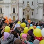 КИЕВ. 120 детей-сирот посетили Лавру в рамках «Всемирного Дня молитвы за сирот»